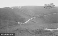 White Horse Hill c.1955, Uffington