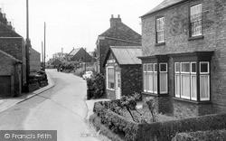 Ulceby, Coronation Street c.1960