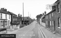 Ulceby, High Street c.1965