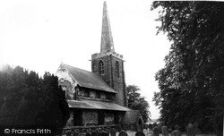Ulceby, St Nicholas' Church c.1960