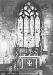 Ulceby, St Nicholas Church, Children's Altar c.1960
