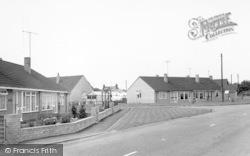 Ulceby, Station Road c.1960