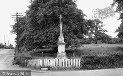 Ulceby, The Memorial c.1965