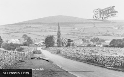 And Binsey From The Fell c.1955, Uldale