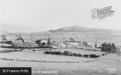 Uldale, And Skiddaw From The Aughatree Road c.1955