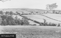 Uldale, From Latriggs c.1955