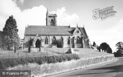 Uley, Church Of St Giles c.1955