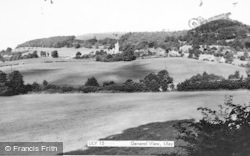 Uley, Distant View c.1955