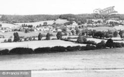Uley, From Lampern Hill c.1955