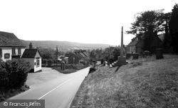 Uley, From The Church c.1960