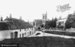 Uley, Green And Church Of St Giles 1904