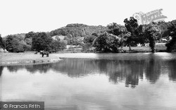 Uley, Stouts Hill Pond c.1955