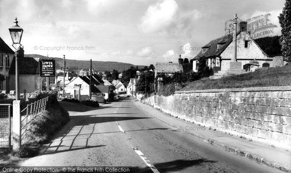 Photo of Uley, the Street c1965