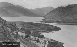 Braemore Hills And Narrows Of Loch Broom c.1939, Ullapool