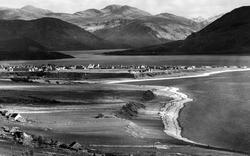 Loch Broom And The Braemar Hills c.1939, Ullapool