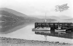 Pier And Loch Broom c.1964, Ullapool