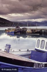 View Over Pier To Loch Broom c.1984, Ullapool