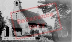 St Mark's Church c.1955, Ullenhall