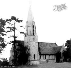 Ullenhall, St Mary The Virgin Church c.1960