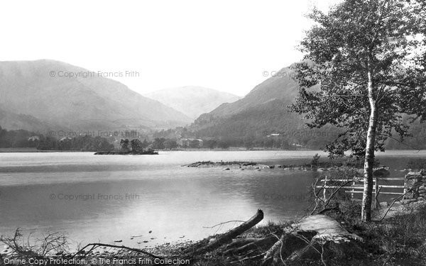 Photo of Ullswater, 1888, ref. 20565