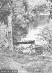 Boatman At Stybarrow Crag 1888, Ullswater