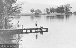 Children On Landing Stage c.1955, Ullswater