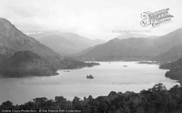 Ullswater, from Gowbarrow Park 1892