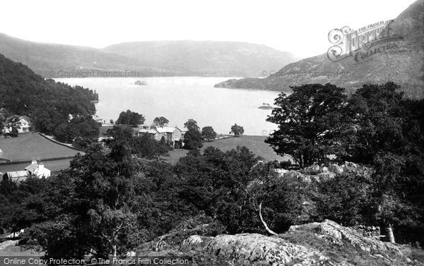 Photo of Ullswater, Hotel and Lake 1892, ref. 30553