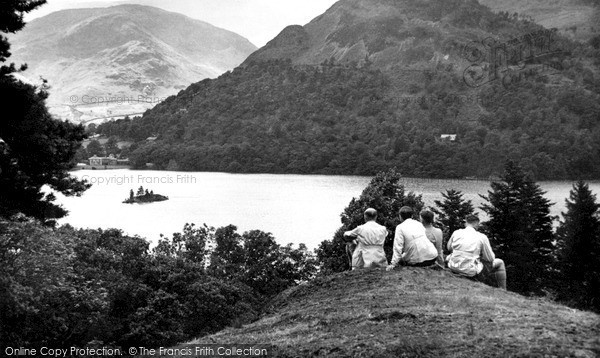 Photo of Ullswater, Purse Point c1955, ref. U4001