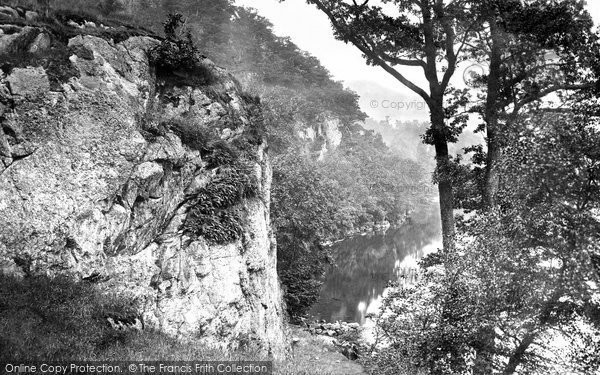 Photo of Ullswater, Stybarrow Crag c1877, ref. 10285