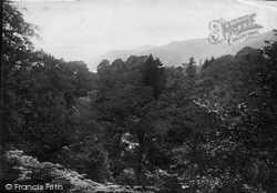 View At Aira Force 1888, Ullswater