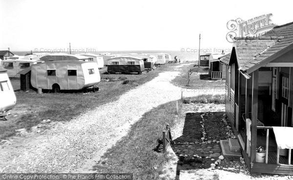 Photo of Ulrome, Beachbank c1955