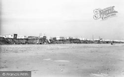 Ulrome, Beachbank Caravan Site c.1960