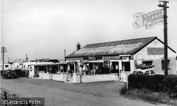 Ulrome, Beachbank Holiday Camp Shop c.1960