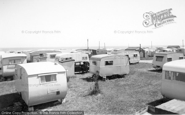 Photo of Ulrome, Galleon And Beachbank Caravans c.1955