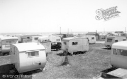 Ulrome, Galleon And Beachbank Caravans c.1955