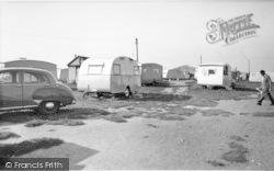 Ulrome, Galleon Beach Caravan Centre c.1955