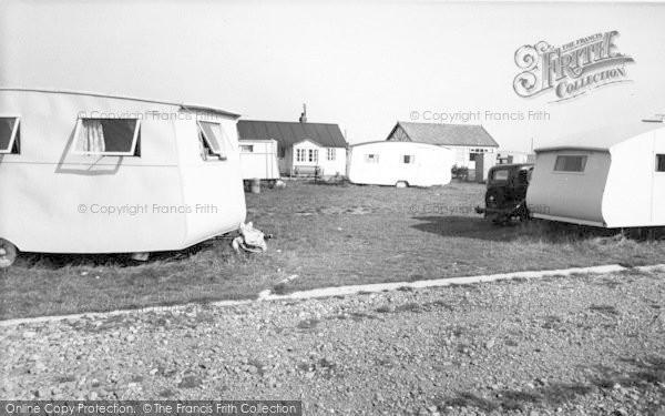Photo of Ulrome, Galleon Beach Caravan Centre c.1955