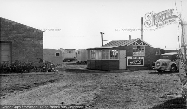 Photo of Ulrome, Galleon Beach Caravan Centre c.1955