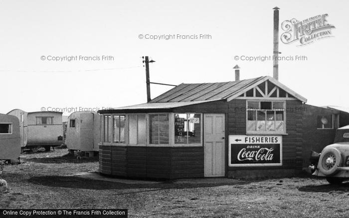 Photo of Ulrome, Galleon Beach Caravan Centre Shop c.1955