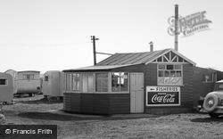 Ulrome, Galleon Beach Caravan Centre Shop c.1955