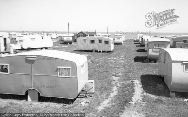 Photo of Ulrome, Galleon Caravans c.1955