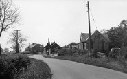 Ulrome, Main Street c1955