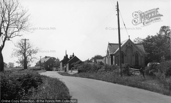 Photo of Ulrome, Main Street c1955