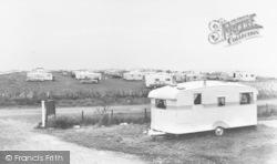 Ulrome, Seaside Caravan Site c.1960