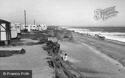 Ulrome, The Beach c.1955