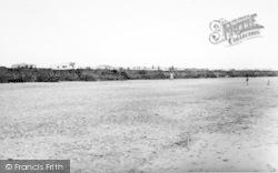 Ulrome, The Beach, Seaside Caravan Site c.1960