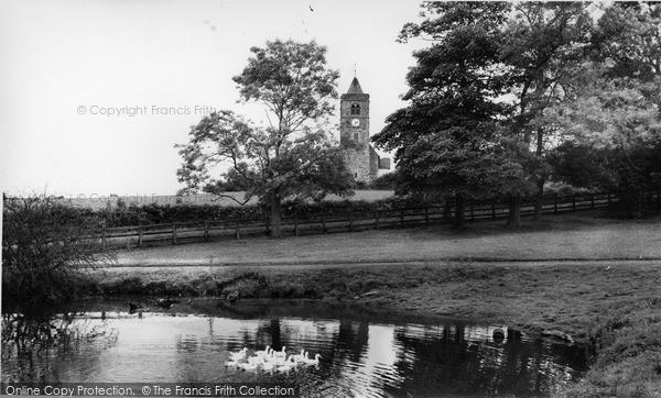 Photo of Ulrome, the Church c1960