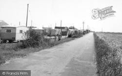 Ulrome, The Road c.1955