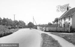 Ulrome, The Shop And Main Street c.1955